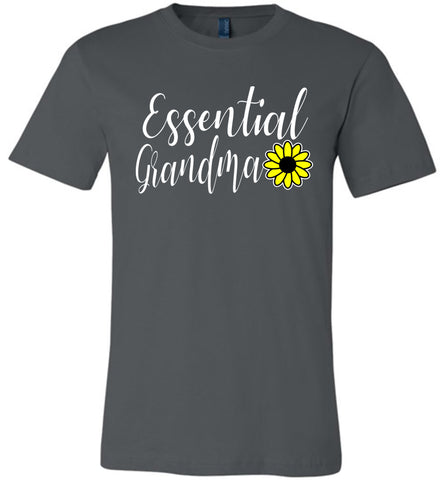 Image of Essential Grandma Shirt asphalt