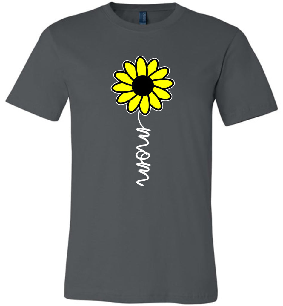 Sunflower Mom Shirt asphalt
