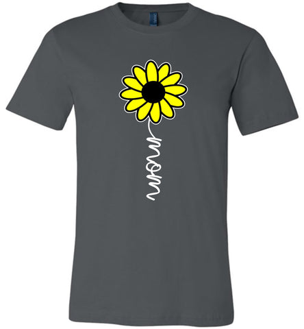 Image of Sunflower Mom Shirt asphalt