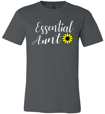Image of Essential Aunt Shirt asphalt