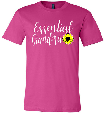 Essential Grandma Shirt berry