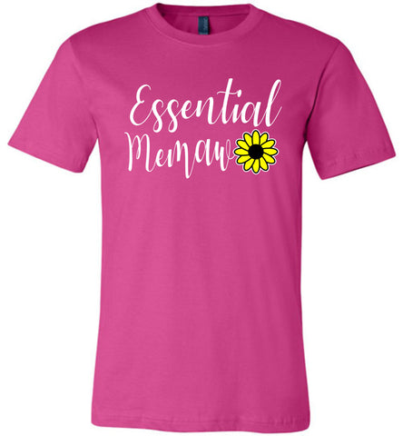 Essential Memaw Shirt berry