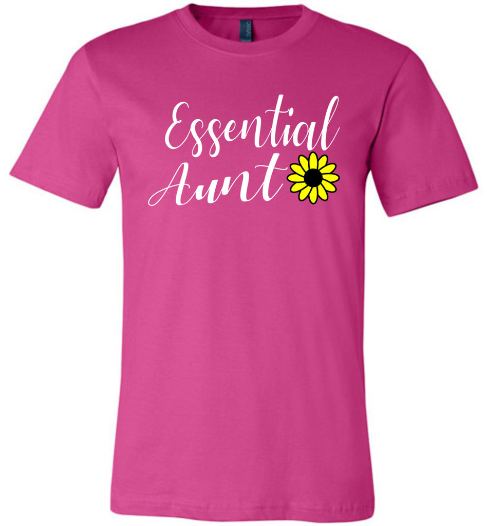 Essential Aunt Shirt berry