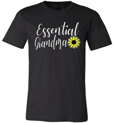 Essential Grandma Shirt black