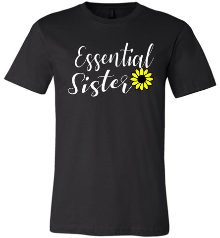 Image of Essential Sister Shirt black