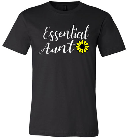 Essential Aunt Shirt black