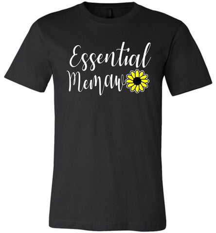 Essential Memaw Shirt black