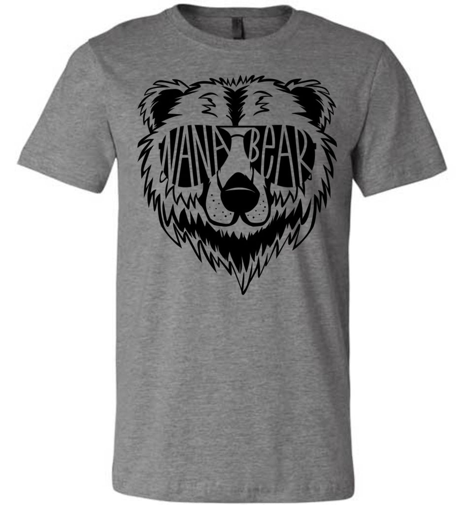 Nana Bear Shirt deep heather