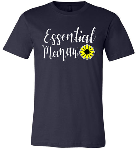 Essential Memaw Shirt navy