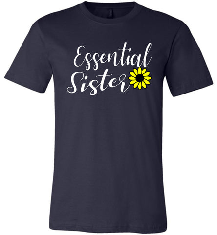 Essential Sister Shirt navy