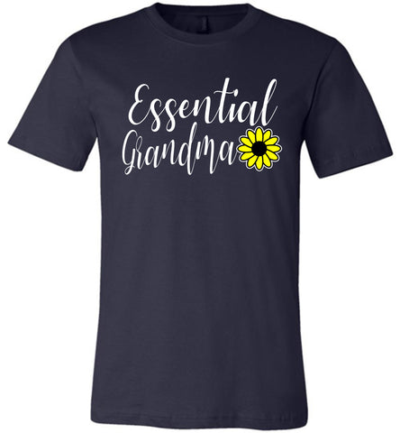 Image of Essential Grandma Shirt navy