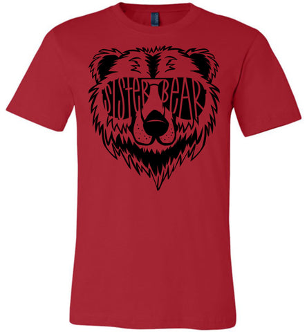 Image of Sister Bear Shirt red