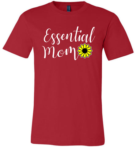 Image of Essential Mom Shirt red