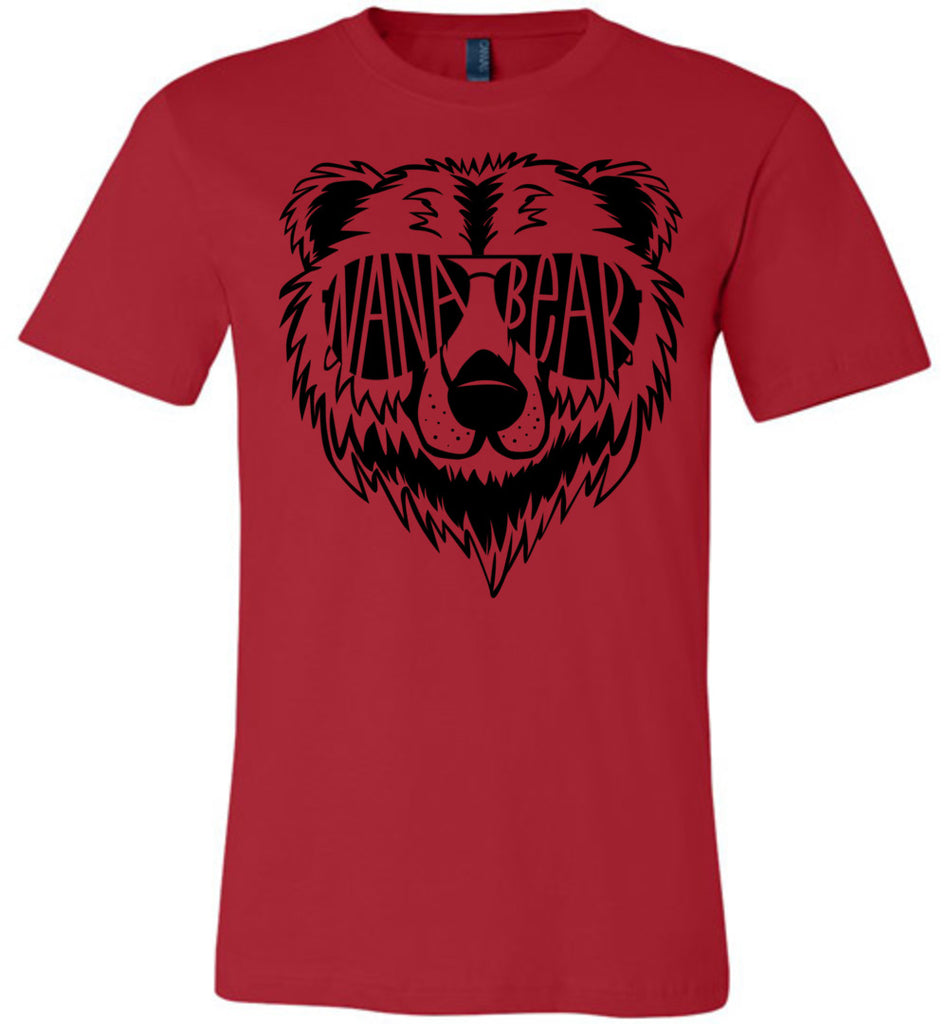 Nana Bear Shirt red