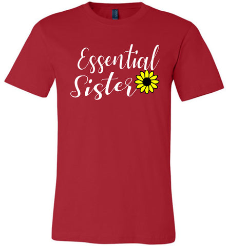 Essential Sister Shirt red