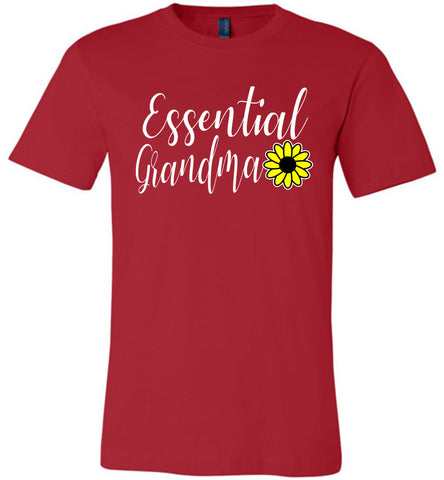 Essential Grandma Shirt red