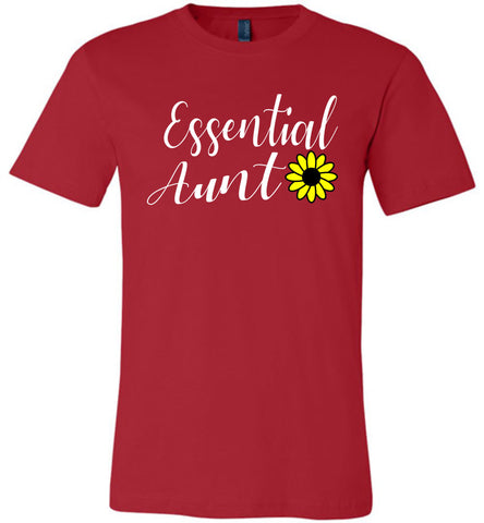 Image of Essential Aunt Shirt red