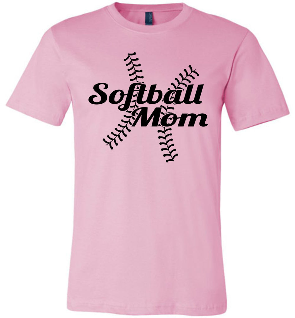 Softball Mom Shirts pink