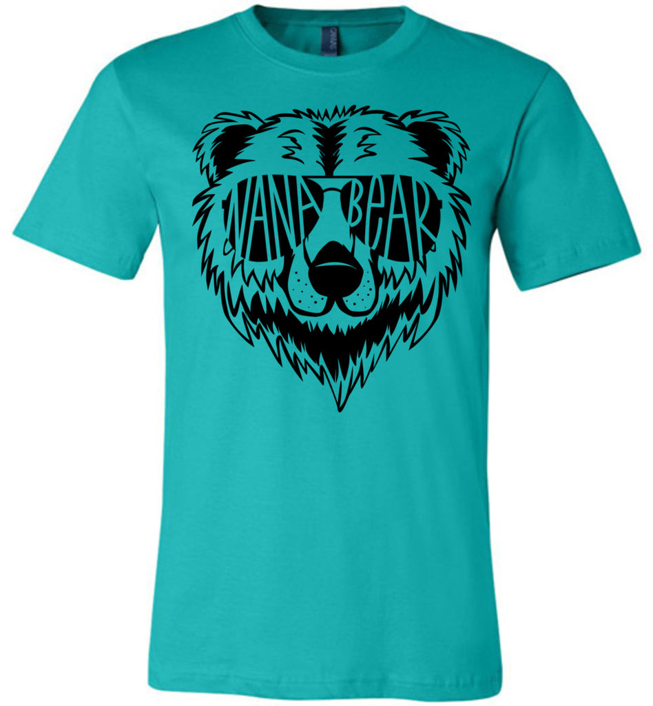 Nana Bear Shirt teal