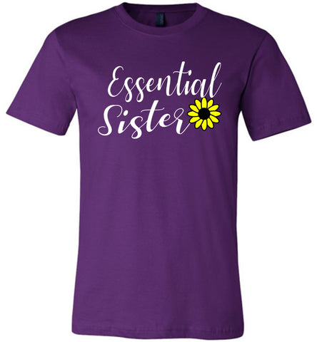 Image of Essential Sister Shirt purple