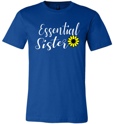 Image of Essential Sister Shirt royal