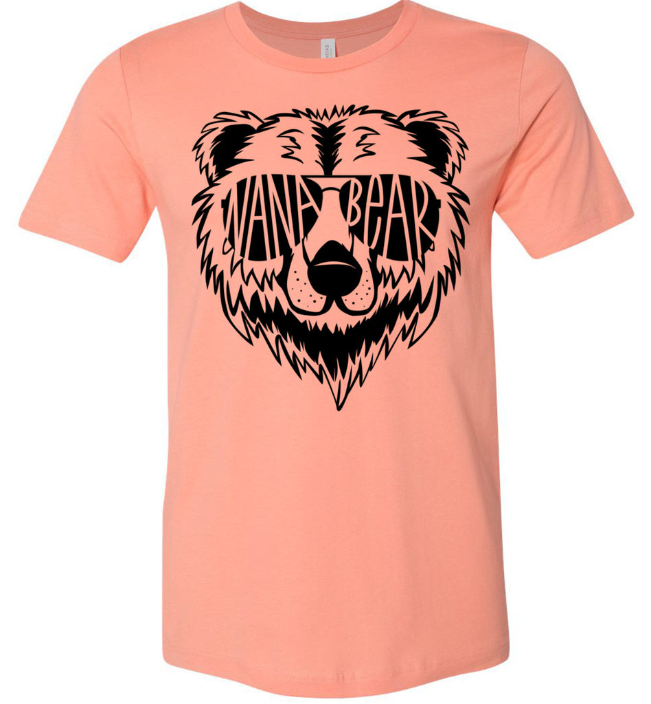 Nana Bear Shirt sunset