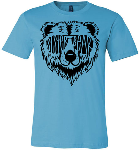 Image of Sister Bear Shirt turquoise
