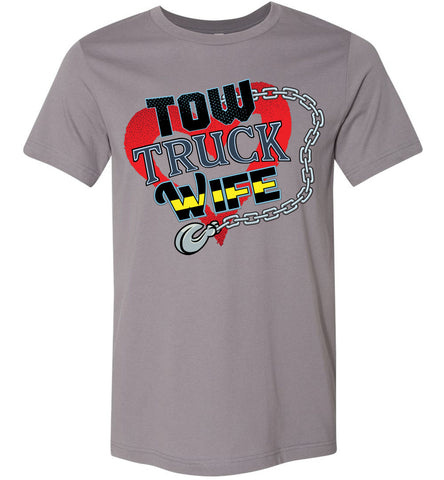 Image of Tow Truck Wife Shirts storm
