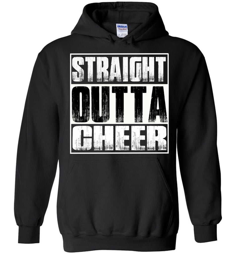 Straight Outta Cheer Hoodie