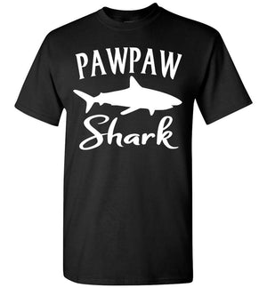 Pawpaw Shark Shirt black