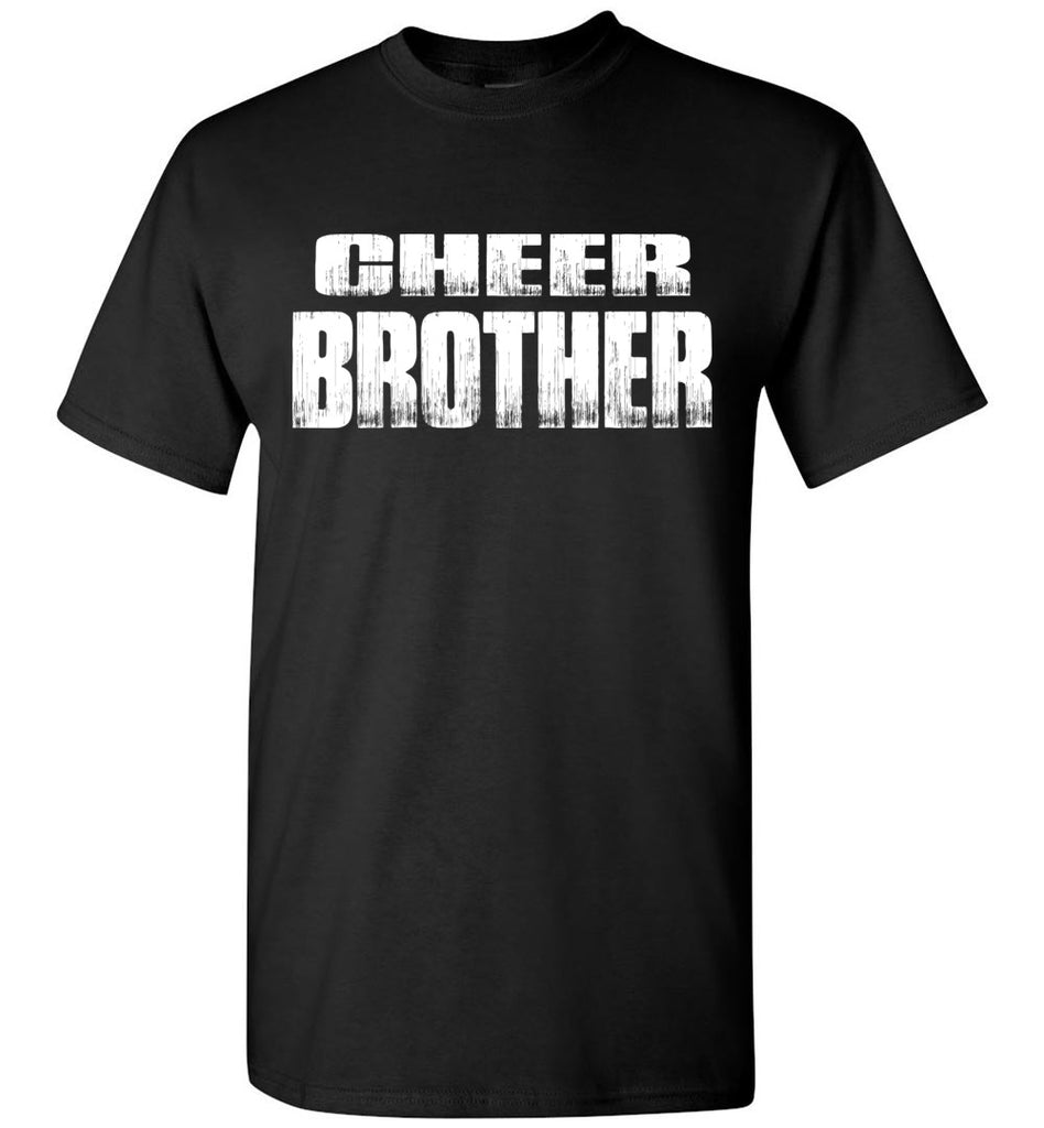 Cheer Brother Shirt | Cheer Brother Onesie Unisex Adult & Youth Black