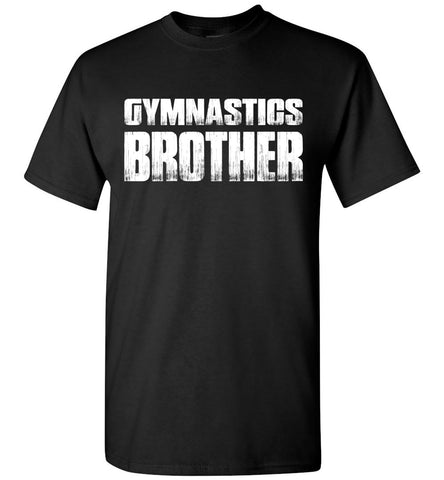 Gymnastics Brother Shirt black