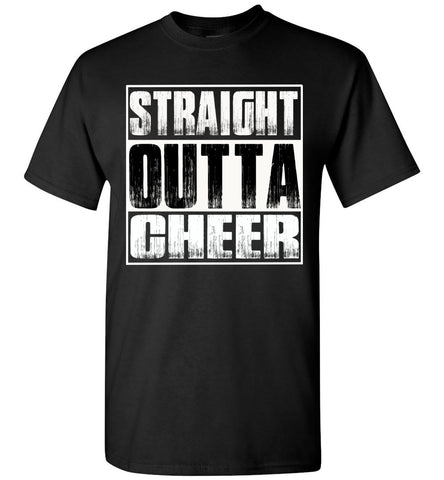 Image of Straight Outta Cheer Shirt unisex crew