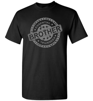 Essential Brother T Shirt black