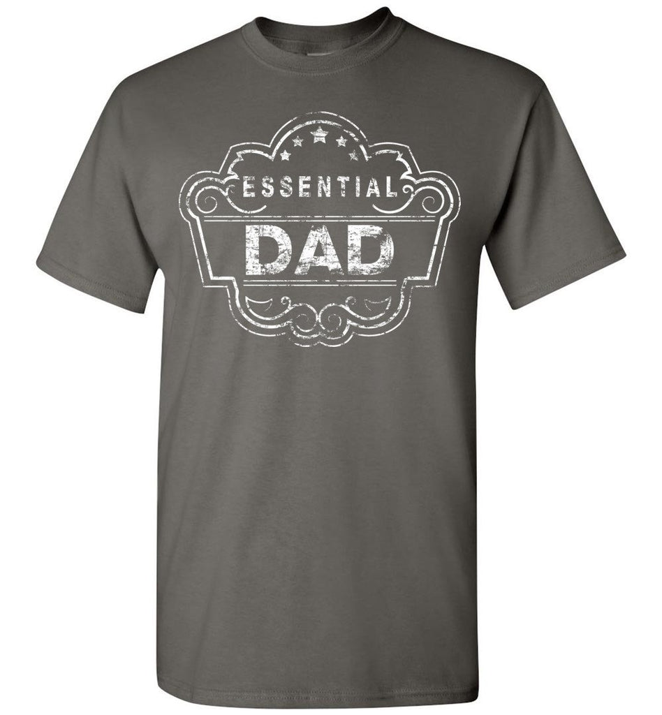 Essential Dad Shirt charcoal