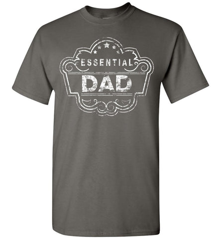 Image of Essential Dad Shirt charcoal