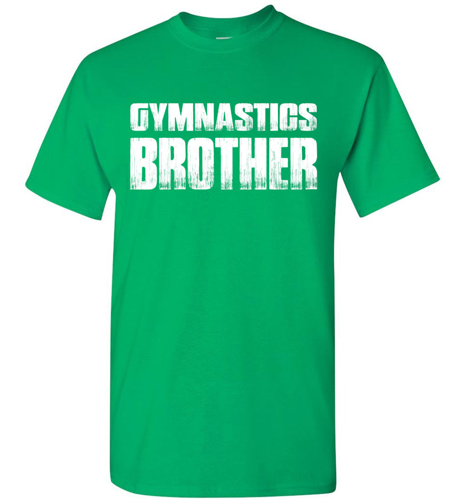 Gymnastics Brother Shirt green