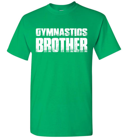 Image of Gymnastics Brother Shirt green