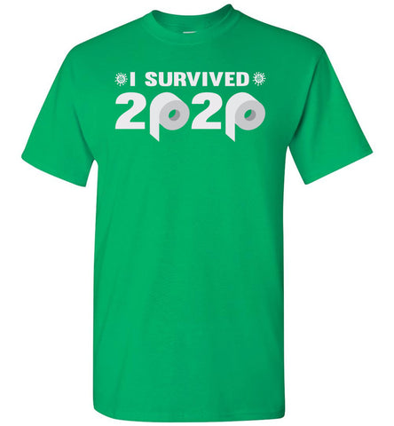 Image of I Survived 2020 T-Shirt green