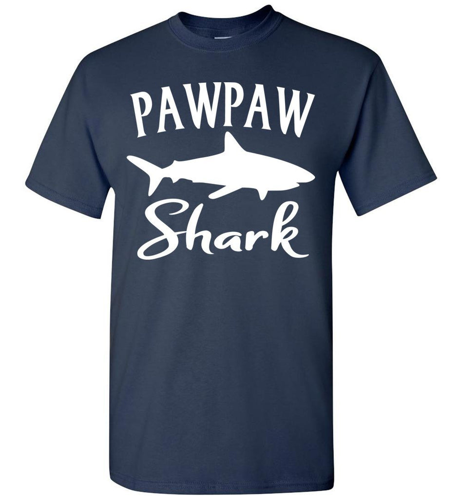Pawpaw Shark Shirt navy