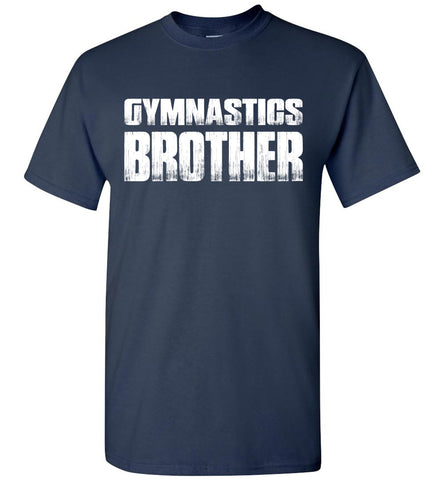 Image of Gymnastics Brother Shirt navy