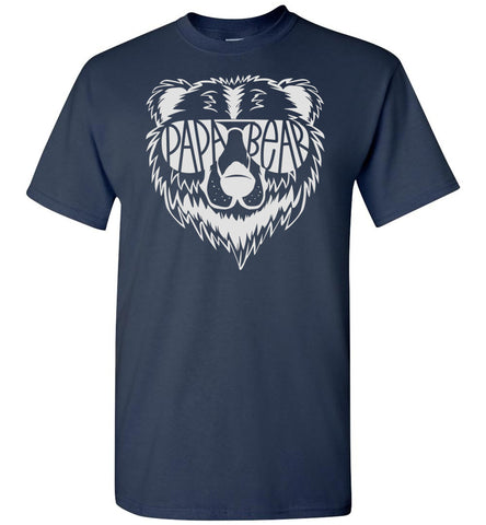 Image of Papa Bear T Shirt navy