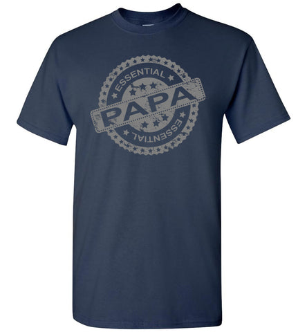 Essential Papa T Shirts navy