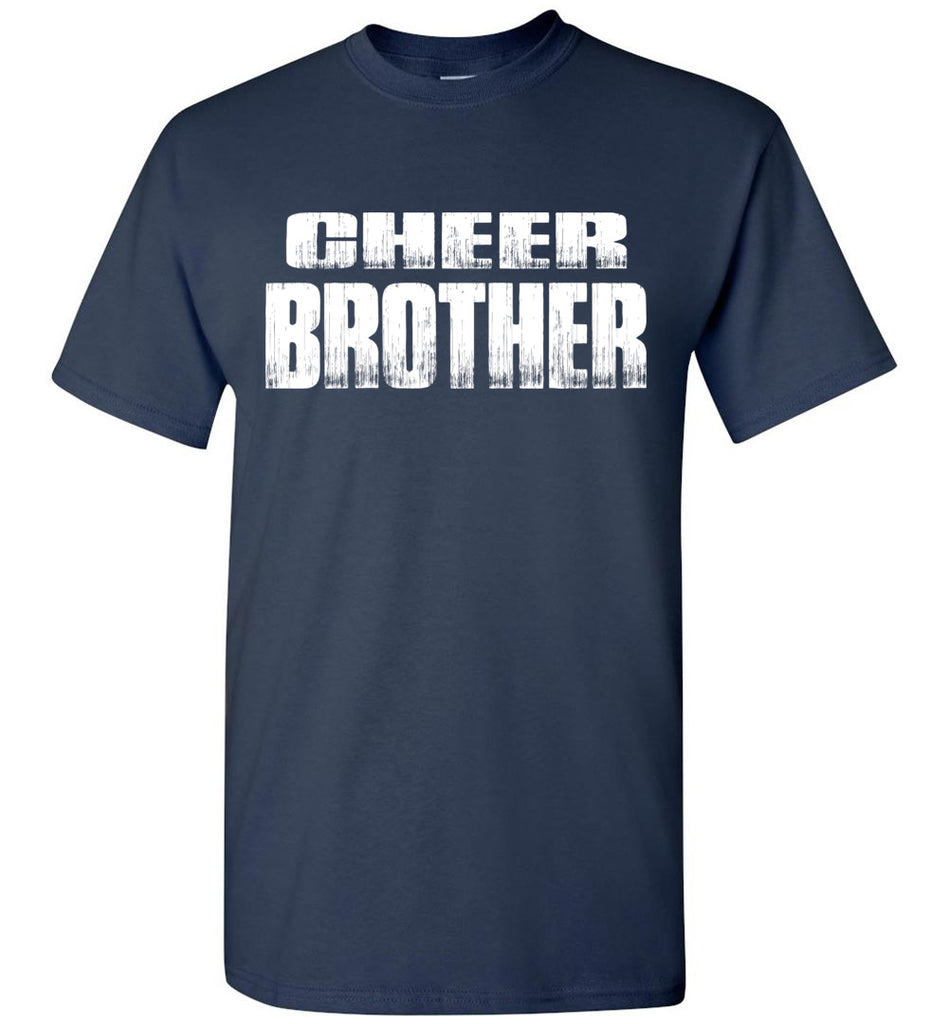Cheer Brother Shirt | Cheer Brother Onesie Unisex Adult & Youth navy