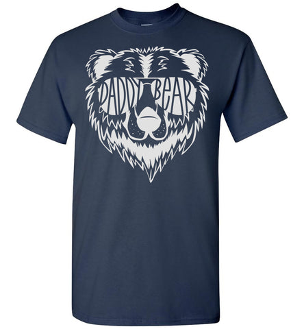 Image of Daddy Bear T Shirt navy