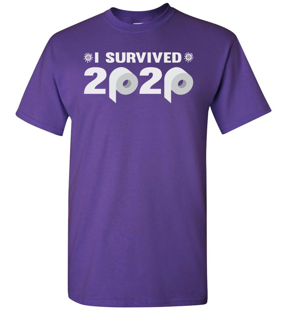 I Survived 2020 T-Shirt purple