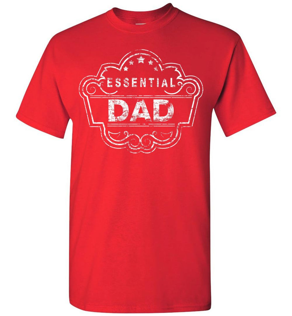 Essential Dad Shirt red