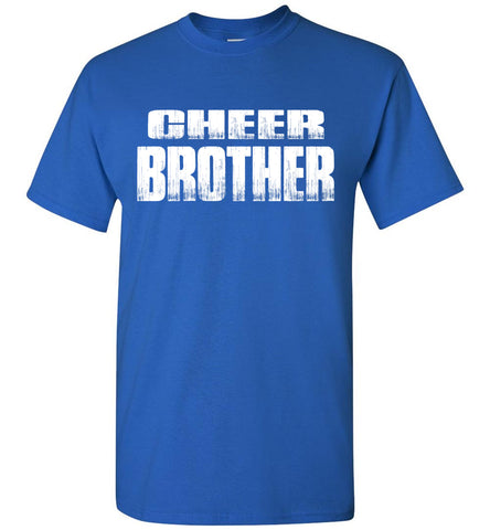 Cheer Brother Shirt | Cheer Brother Onesie Unisex Adult & Youth royal