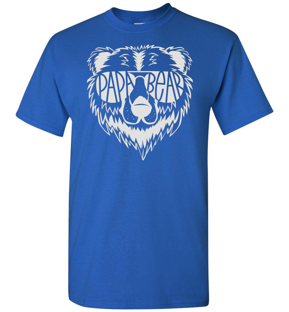 Papa Bear T Shirt royal