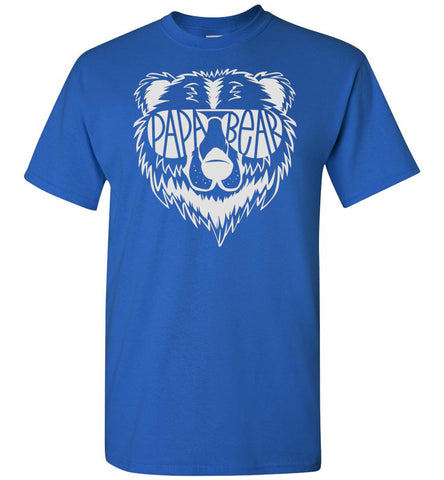 Image of Papa Bear T Shirt royal